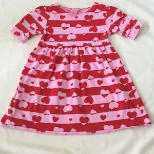 Other - Pink, red hearts cotton tunic